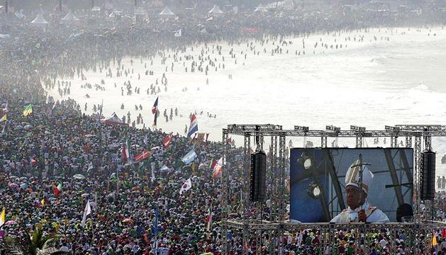 Misa de Clausura de la JMJ en Copacabana