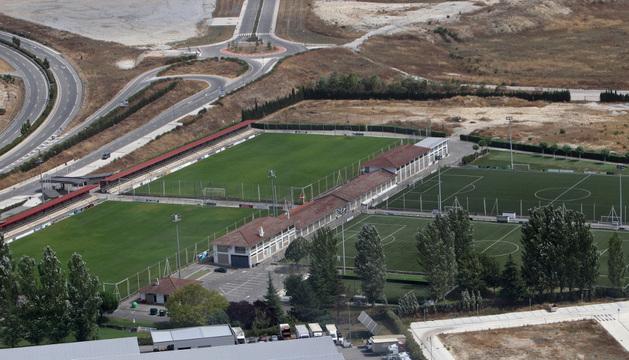 Vista aérea de las instalaciones de Tajonar