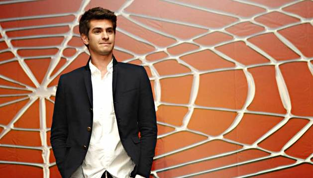 El actor Andrew Garfield.