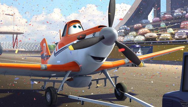 Dusty, el protagonista de la nueva cinta de Disney.