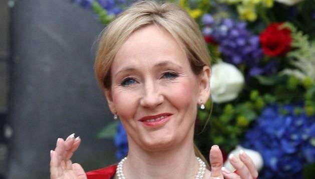 La autora de Harry Potter, J.K. Rowling.