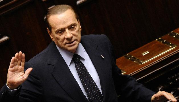El exprimer ministro italiano Silvio Berlusconi.