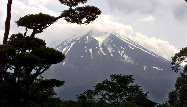 El monte Fuji.