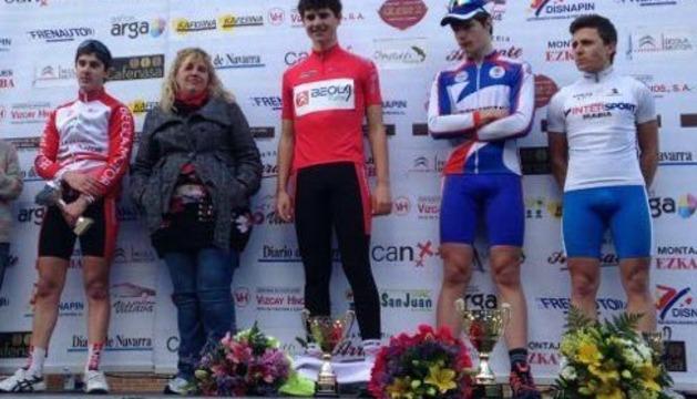 Miguel Induráin junior, campeón navarro de ciclismo