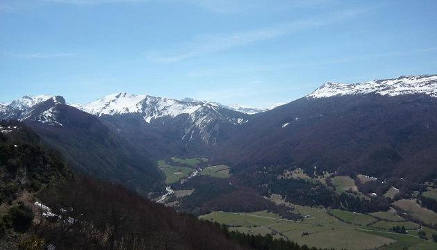 El mirador de Larra-Belagua, situado a 17 kilómetros de Isaba.