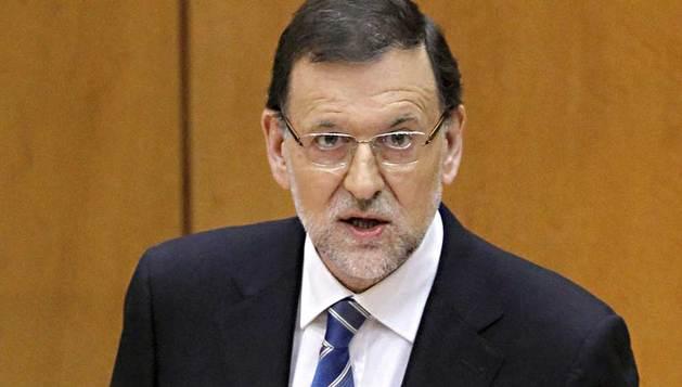 El presidente del Gobierno, Mariano Rajoy, comparece este jueves ante el pleno del Congreso con el objeto de ofrecer su versión del caso Bárcenas.