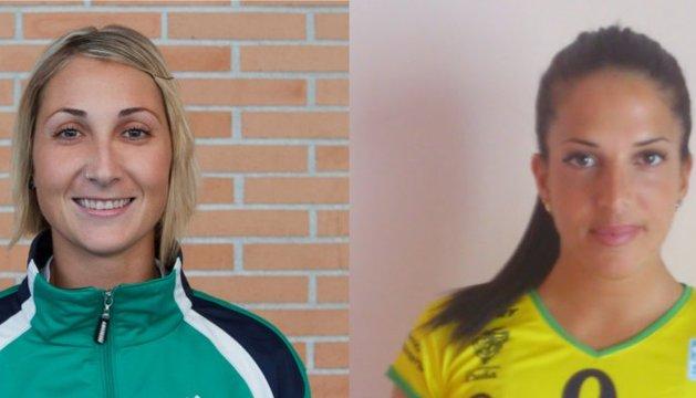 Sandra Cegarra y Marta Fraile