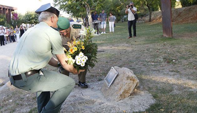 Homenaje a Francisco Casanova en 2012.