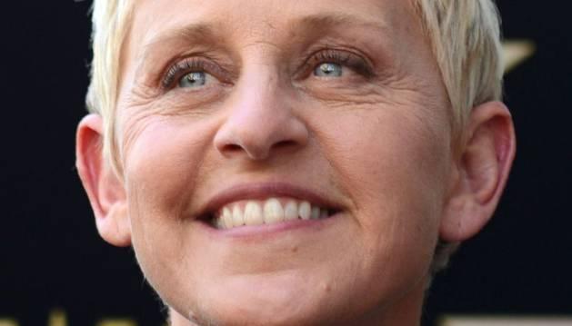 La presentadora de televisión Ellen DeGeneres.