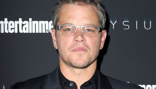 El actor Matt Damon.