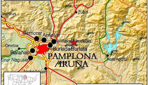 Los tres terremotos han tenido su epicentro en Egüés.