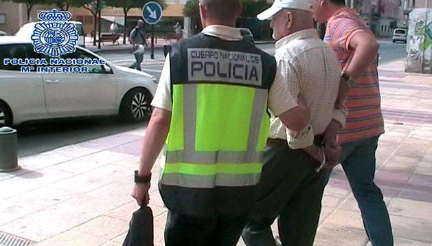 Detención este lunes en Murcia de Daniel Galván, el pederasta español indultado por error en Marruecos.