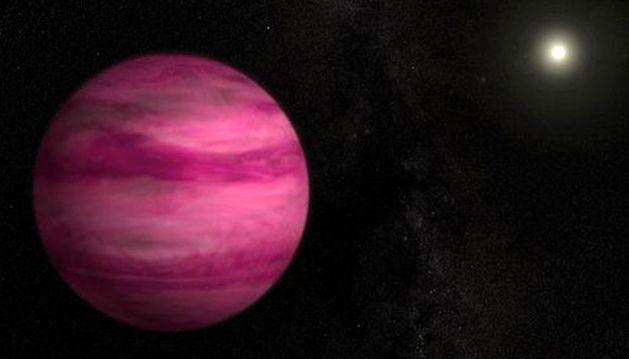 El planeta con menor masa jamás detectado.