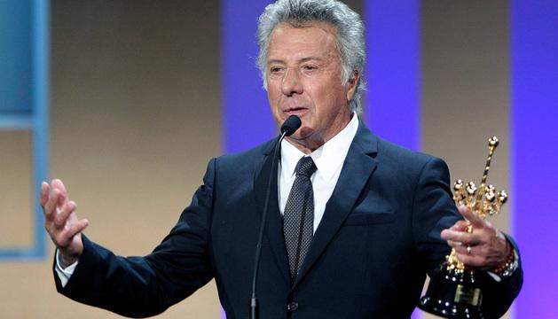Dustin Hoffman recibió el premio