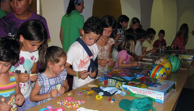 Una de las actividades infantiles desarrolladas en el Museo de Educación Ambiental.