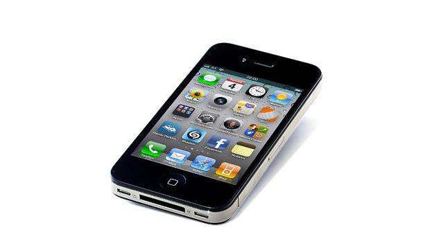 El iPhone, de la compañía Apple.