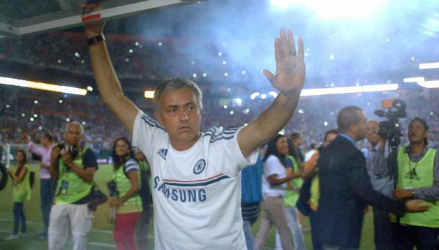 Jose Mourinho, entrenador del Chelsea