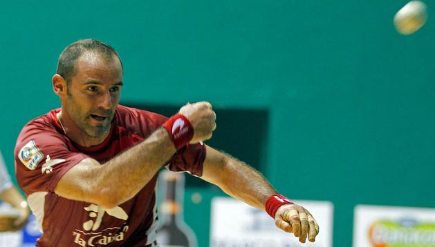 Xala se lesionó durante la semifinal del Torneo de La Blanca de Vitoria