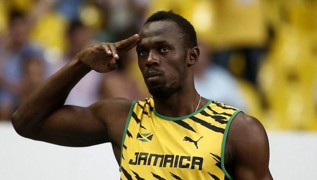 Usain Bolt buscará esta noche su primer oro en Moscú