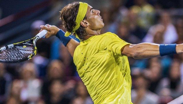 Rafa Nadal, durante su partido ante Djokovic