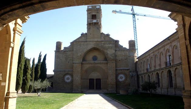 Monasterio de la Oliva.