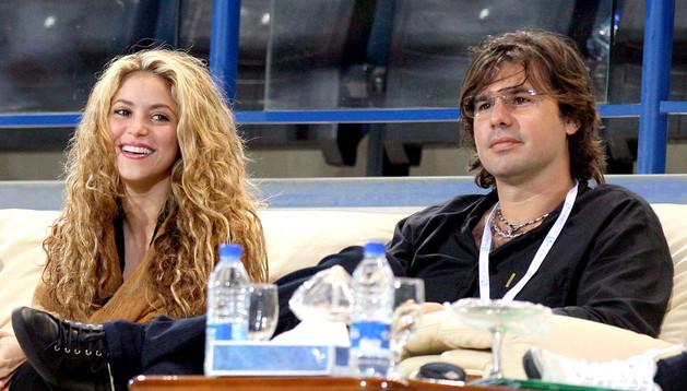 Shakira y su expareja, Antonio de la Rúa