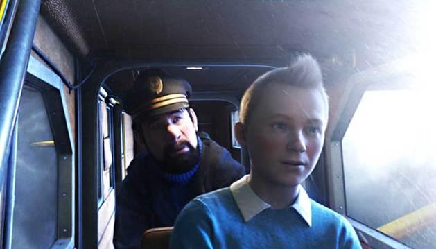 Imagen de la película 'Las aventuras de Tintín: El secreto del unicornio'.