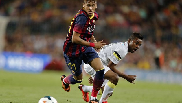 Neymar, Barcelona