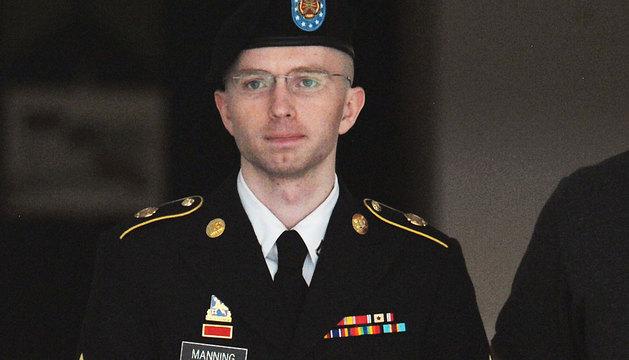 El soldado Bradley Manning.