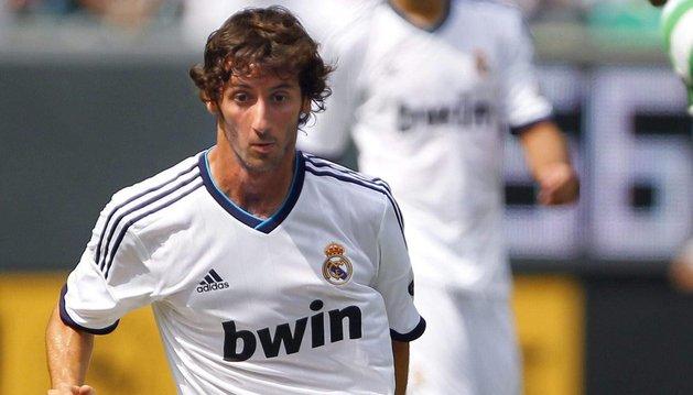 Esteban Granero, en su etapa de jugador del Real Madrid, jugará este año en la Real Sociedad