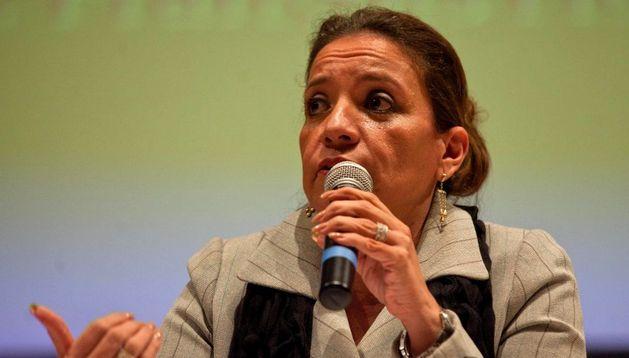 La candidata de Honduras, Xiomara Castro.