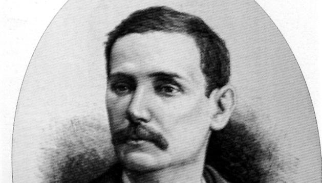 El novelista Benito Pérez Galdós.