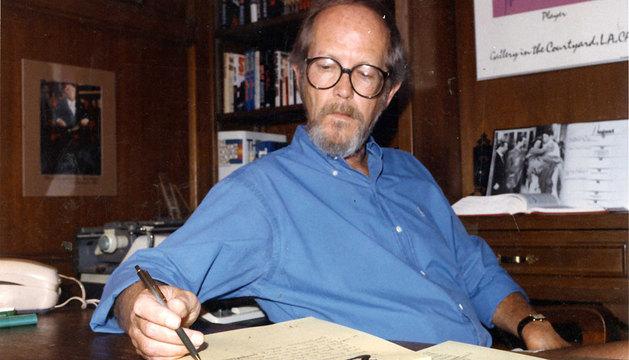 El escritor y guionista Elmore Leonard.