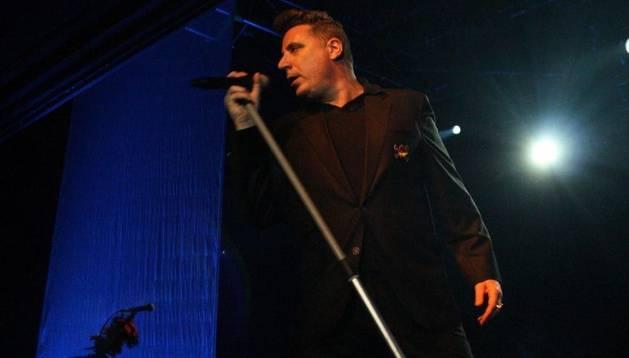 El cantante Loquillo en una actuación anterior.
