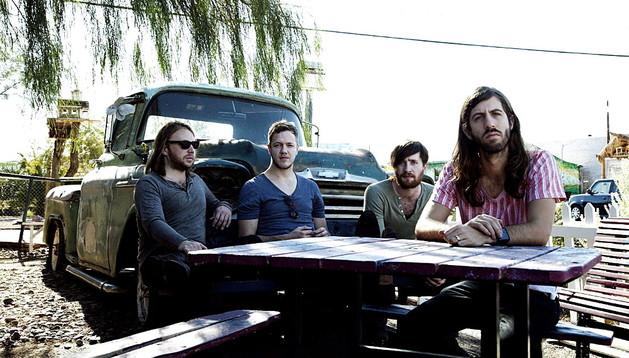 El grupo Imagine Dragons