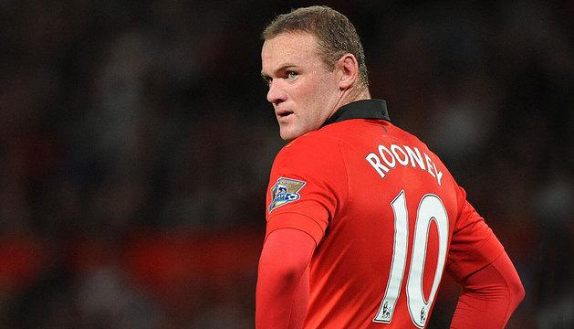Rooney, en el último partido frente al Chelsea.