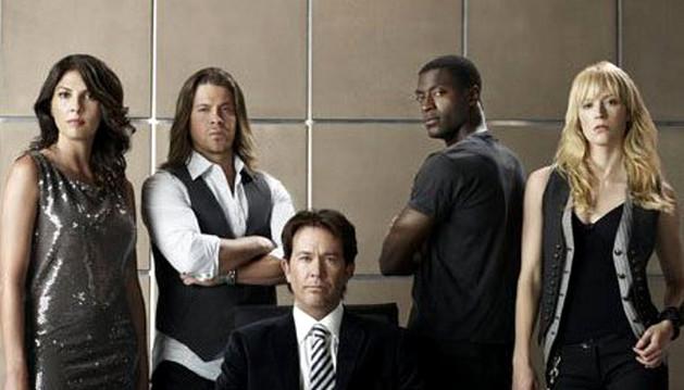 Los protagonistas de la serie