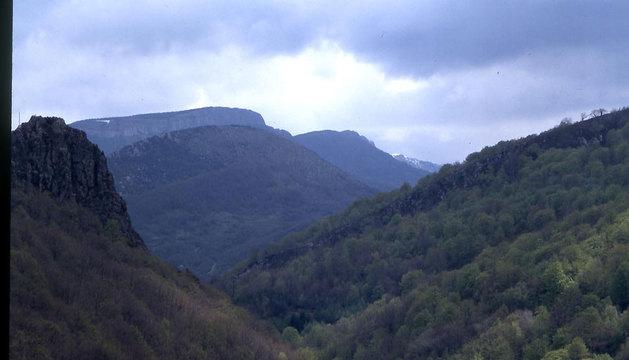 Vista desde el mirador de Ariztokia.