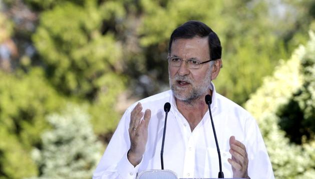 Mariano Rajoy ha anunciado una bajada de impuestos