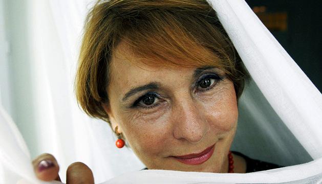 La soprano navarra María Bayo.