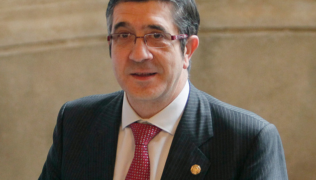 El lehendakari Patxi López.