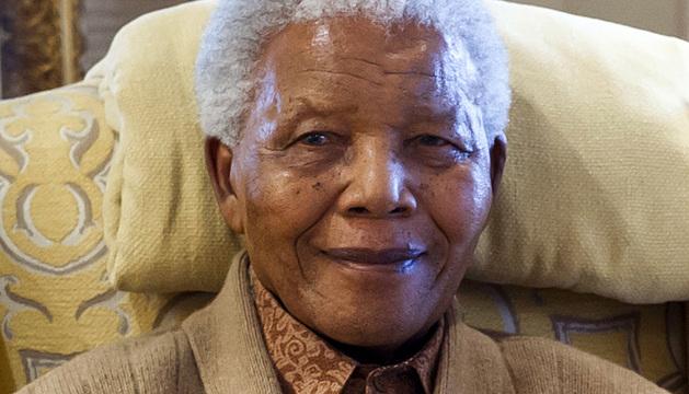 El expresidente sudafricano Nelson Mandela.