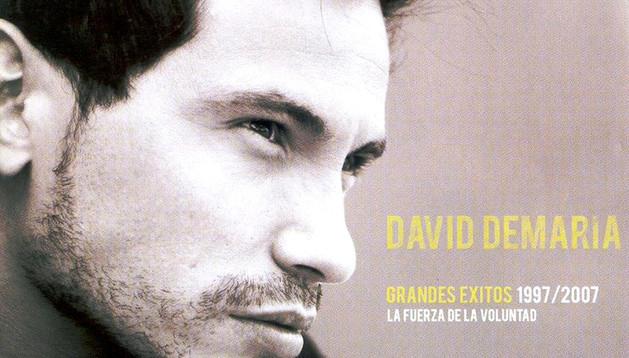 Portada de un álbum de David DeMaría