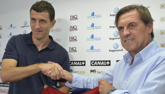 Javi Gracia, entrenador de Osasuna