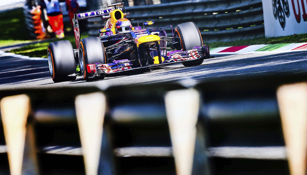 Sebastian Vettel ha marcado el mejor tiempo en los entrenamientos libres del Gran Premio de Italia
