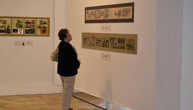 Imágenes de las ocho exposiciones que componen la cuarta edición de esta cita con las ilustraciones.