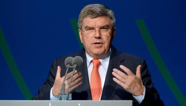 El alemán Thomas Bach, nuevo presidente del COI