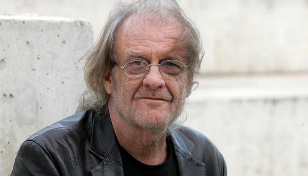 Luis Eduardo Aute, en Pamplona en 2008.