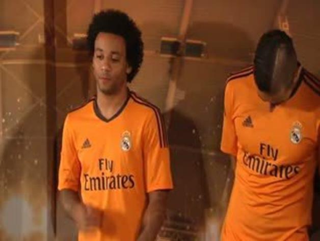 El Madrid presenta su nueva equipación champions