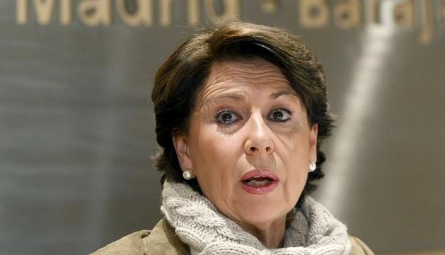 La exministra de Fomento Magdalena Álvarez, en una imagen de 2009